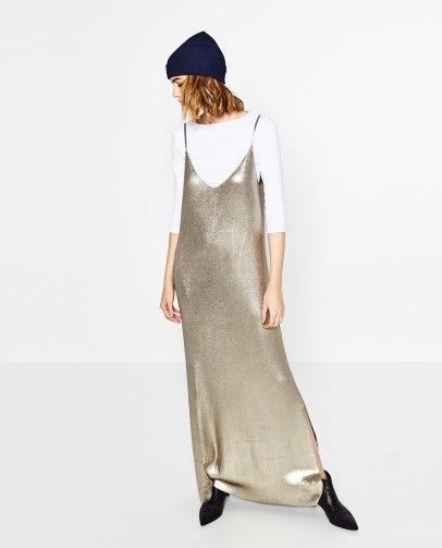 robe-longue-brillante-zara