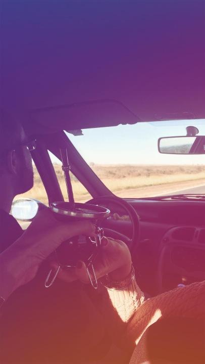 Mate dans la voiture