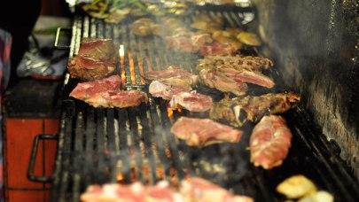 Gros barbecue chez Cas Pagès