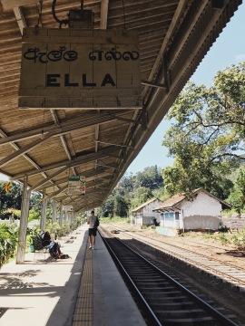 Départ vers Nuwara Eliya