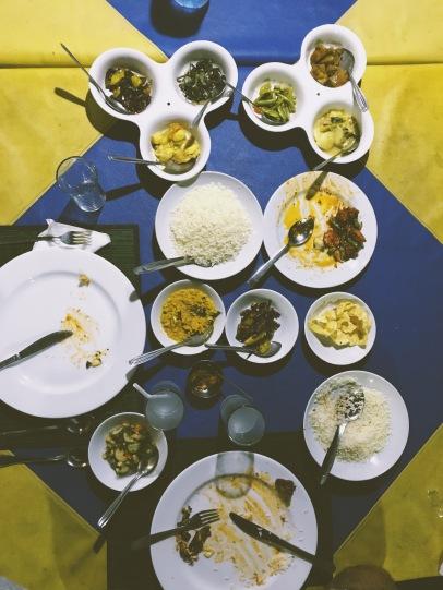 Curry végétarien de fou